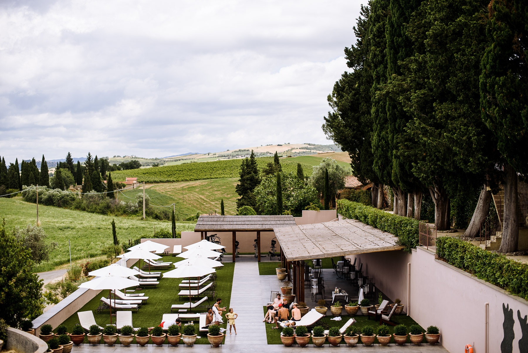 Location per matrimoni, colline toscane