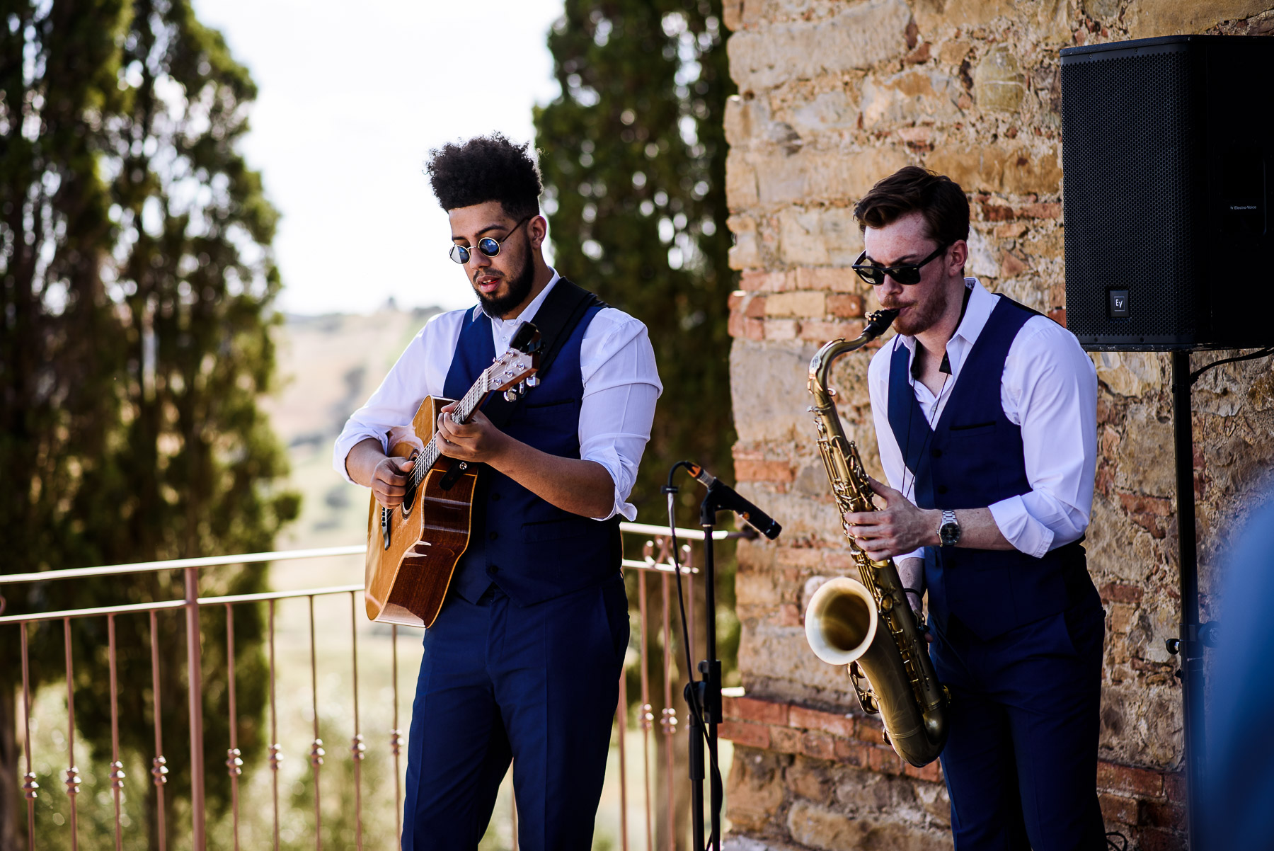 Matrimonio in Toscana, accompagnamento musicale